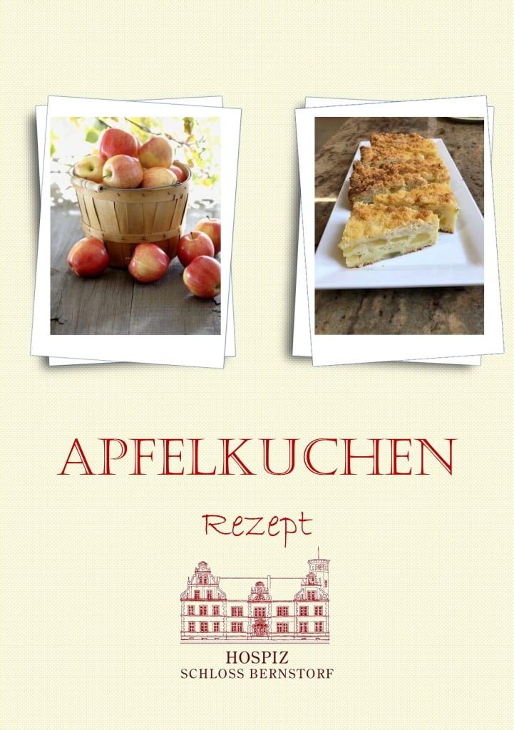 Apfelkuchenrezept aus der Schloss-Bernstorf-Küche